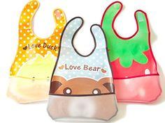Free Baby bib pattern pdf with pocket tutorial ♥ Fleece Fun