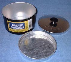 kmart/walmart. grease pot- cheap kitchen kit