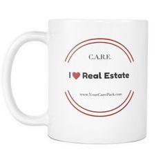 "Exclusive ""I LOVE REAL ESTATE"" Coffee Mugs"