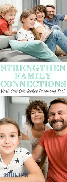 As our children grow up, it gets harder to find ideas and activities to foster strong family connections. But this idea for a family meeting that parents can use to build a strong family connection that lasts and lasts! #familyconnection #familymeeting www.themidlifemamas.com
