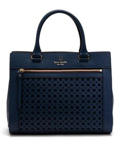 Kate Spade. Love the navy color!