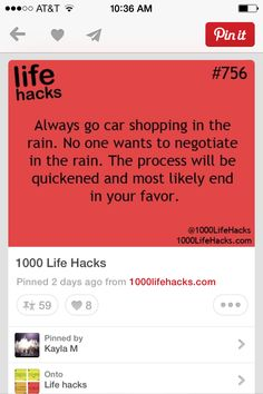 Life hack ((Lol.... will need to remember this since who knows when it will be.. Just needs to be before MAY!!))