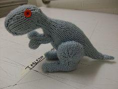 Dino the Dinosaur | AllFreeKnitting.com