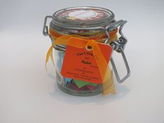 ★Love & Friendship★ quotations in a jar. The Perfect Present & Special Gift for ★Mum on Mother's Day★ and other Special people in your life. Each jar contains 31 Multi-coloured Quotes - a month of everyday Thoughts and Sayings in a 125ml Kilner clip type glass jar to inspire loved ones to happiness. For friends, family and special people in your life - mum, dad, wife, sisters, aunt, friend. ★Start your days with a smile★
