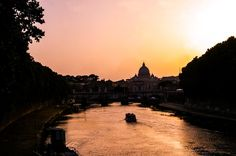 Summer, sunset and the magnificence of #Rome. I'll always have so many influences and inspiration from Europe!   #travel #inspiration #Italy #NeverStrayFromChic