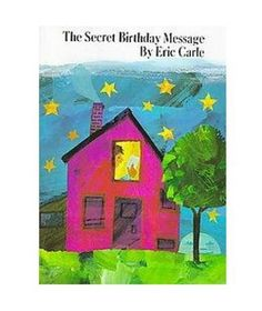 The Secret Birthday Message- to be used as the guest book at the first birthday party!