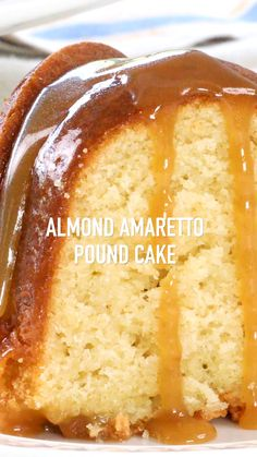 Easy Baking Recipes, Easy Cake Recipes, Sweet Recipes, Dessert Recipes, Cooking Recipes, Recipes With Cake Flour, Almond Cake Recipes, Dessert Bread, Almond Pound Cakes