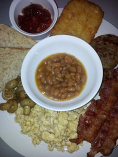 Full English Breakfast part of our All Day Menu at Marshall's Irish Pub in Cebu