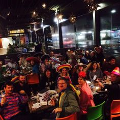 A full house of amigos at The Flying Burrito Brothers Newmarket. NZ Mexican- www.flyingburritobrothers.co.nz
