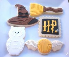 Harry Potter set | Cookie Connection - For all your cake decorating supplies, please visit craftcompany.co.uk