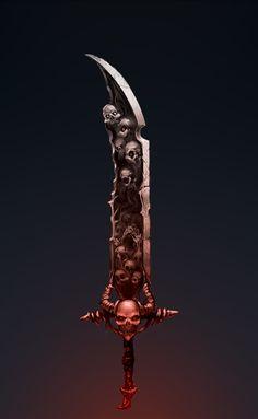 Dark Sword by Skilrex.deviantart.com on @DeviantArt