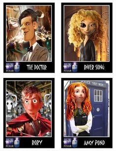 If Disney/Pixar made Doctor Who..
