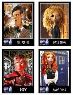 If Disney/Pixar made Doctor Who..