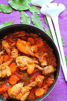 Chicken with peppers and onions Snack Recipes, Cooking Recipes, Healthy Recipes, Greek Dinners, Greek Cooking, Food Tasting, Mediterranean Recipes, Greek Recipes, How To Cook Chicken