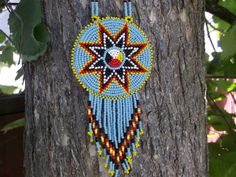 morning star necklace native american by deancouchie on Etsy, $74.95