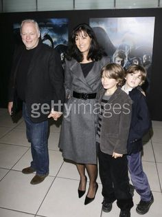 David Gilmour wife Polly sons Joe & Gabe   Pink Floyd