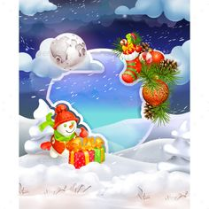 Merry Christmas, Vector Background This archive contains editable .eps vector format (10th version) and high resolution .jpg image. There is no limit to you creating your own combinations: you can change colors and backgrounds, mix icons together and scale them without any loss of quality as they are 100 vectors. The vectors can be used whereve