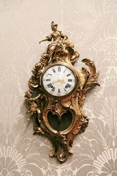#Baroque... I have one of these ormalou clocks!