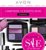 this is the C12 - Brochure from Avon great prices with awesome products, to order online and register as my customer go to www.youravon.com/mfalcone