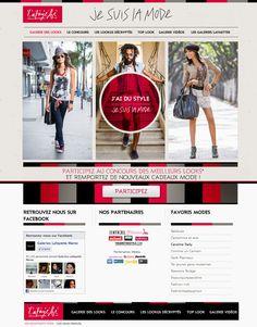 Je sus La mode de Galerie lafayette by Reda EL ALAOUI, via Behance