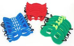 PJ Masks Mask Party Pack // Catboy Owlette Gekko // by ceciandjuju