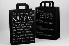 Kaffe Packaging by Felix Lobelius