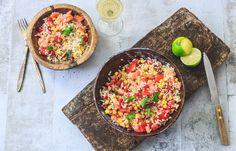 Mexicaanse rijstsalade