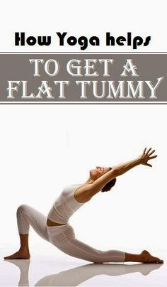 How Yoga helps to get a flat tummy