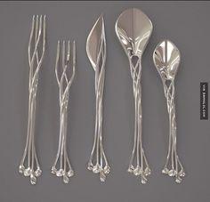 Elven Cutlery Set
