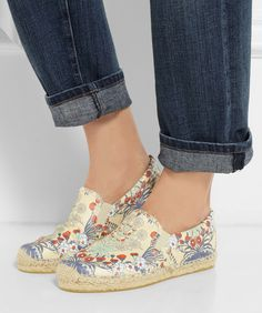 #floral print leather espadrilles  http://rstyle.me/n/e5w8vpdpe