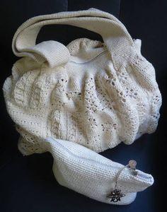 Bolsa de Crochê Rita Piermattei  http://www.elo7.com.br/bolsa-de-croche-rita-piermattei/dp/229C9A