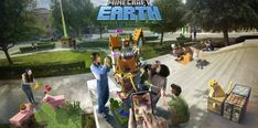 Minecraft Earth takes the original game and blends it with Pokemon Go – TechRadar Minecraft Skins, Minecraft Earth, How To Play Minecraft, Pokemon Go, Games Like Pokemon, Pikachu, Teaser, Earth Games, Xbox