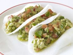 Vegetarian Tacos    Richard Blais made these tacos in an upscale taco Quickfire Challenge on episode 3 of Top Chef: Season 4.