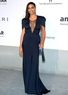 Pin for Later: Uma Thurman Shut It Down at the Cannes Closing Ceremony Rosario Dawson at the amfAR Cinema Against AIDS Gala Rosario Dawson at the amfAR Cinema Against AIDS Gala.