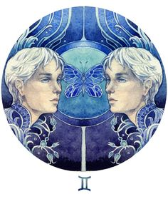 """Gemini is identified, but this looks more Libra to me: """"Through the looking glass."""""""