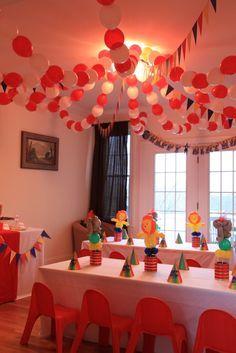 "Photo 32 of 32: Circus / Birthday ""Big Top Birthday!"" | Catch My Party"