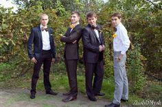 свадьба в стиле ретро #wedding #retro #groomsmen #yellow