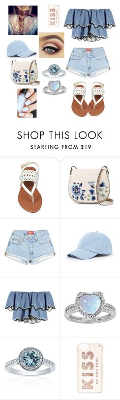 """""""Untitled #73"""" by shanibibo ❤ liked on Polyvore featuring French Connection, Sole Society, HUISHAN ZHANG, Belk & Co. and Kate Spade"""