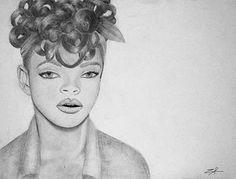 Rihanna Sketch