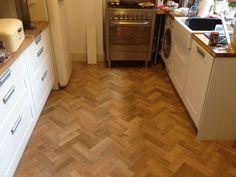 Art Select Parquet Blonde Oak Flooring
