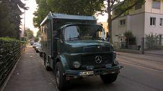Beautifully restored Mercedes Benz 911B, ex-army or police. #Mercedes #Kurzhauber