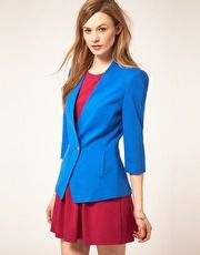 I'm in love with bright blazers!