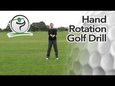 Golf Drill for Correct Hand Rotation | Free Online Golf Tips