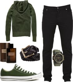 """""""green style"""" by catia-rodrigues on Polyvore"""