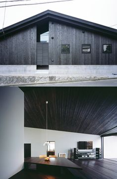 Naruse House by MDS has been clad using the traditional Japanese technique of Yakisugi, which involves charring cedar wood to create a blackened, weather-resistant surface that resists decay   http://www.dezeen.com/2014/09/19/mds-naruse-house-tokyo-japan/