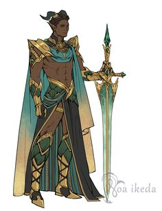 Character and outfit designs, Noa Ikeda Character Design Cartoon, Fantasy Character Design, Character Design Inspiration, Character Concept, Character Art, Concept Art, Black Characters, Dnd Characters, Fantasy Characters