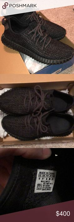 Yeezy Boost 350 'Pirate Black' 2015 *used* Lightly used Yeezy Boost 350 'Pirate Black' 2015 release. Lightly used but in excellent condition! Yeezy Shoes Sneakers