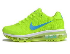 new style aec1d 7ad3c Womens Nike Air Max 2017 Kpu Ii Fluorescent Green Best Price