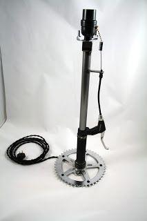 MOTO-cycle Metal Works: New bicycle brake lever lamp