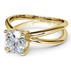 At Brilliance, we always make sure that your message of Forever is the best that it can be. Elegance is but a single sparkle away with the Cross Split Shank Diamond  Solitaire Ring in Yellow Gold!  http://www.brilliance.com/engagement-rings/cross-split-shank-solitaire-ring-yellow-gold